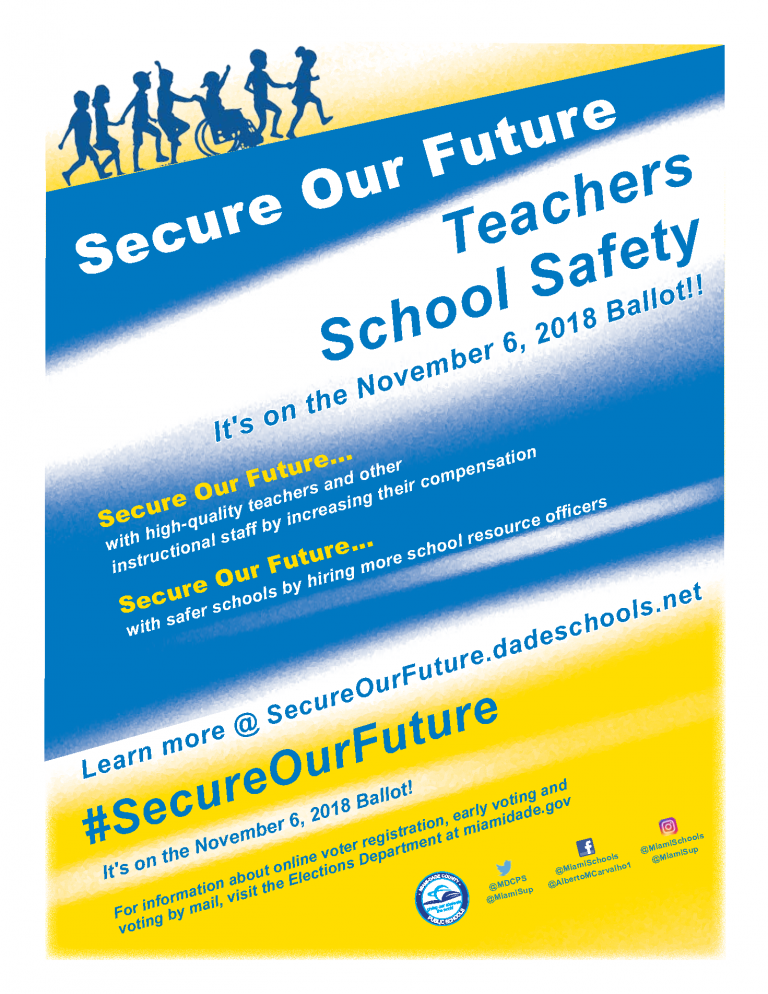 Secure Our Future Open House Flier Color ENGLISH